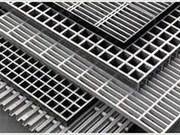 Решетчатый настил алюминиевый тип P/S3 (RR.AV) по стандарту DIN 24537-1
